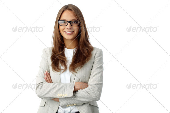 Girl in formalwear - Stock Photo - Images