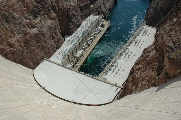 Hoover Dam - Stock Photo - Images