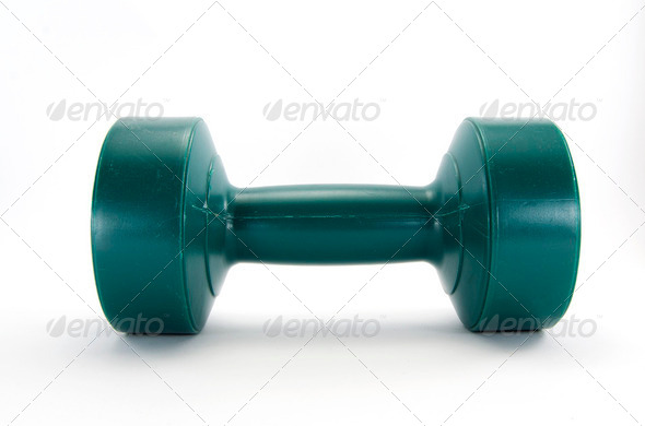 Dumbbell weights - Stock Photo - Images