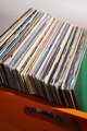 lot of records in sleeves - PhotoDune Item for Sale