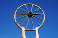 old wooden wheel - PhotoDune Item for Sale