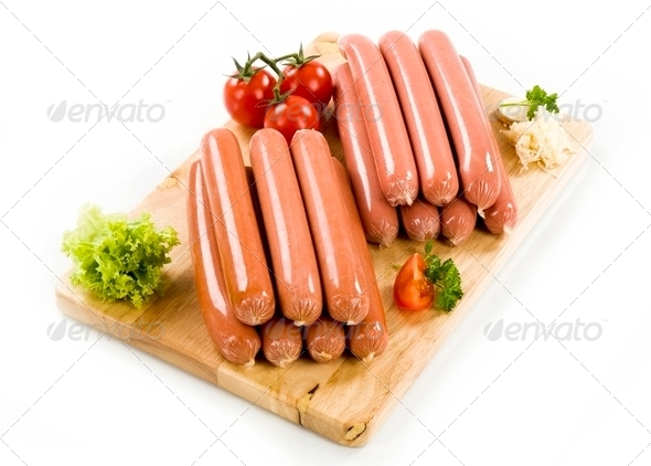 Sausages - Stock Photo - Images