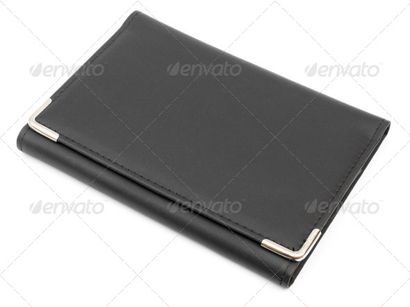 Leather Folder - Stock Photo - Images
