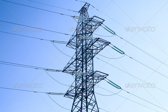 Transmission Tower - Stock Photo - Images