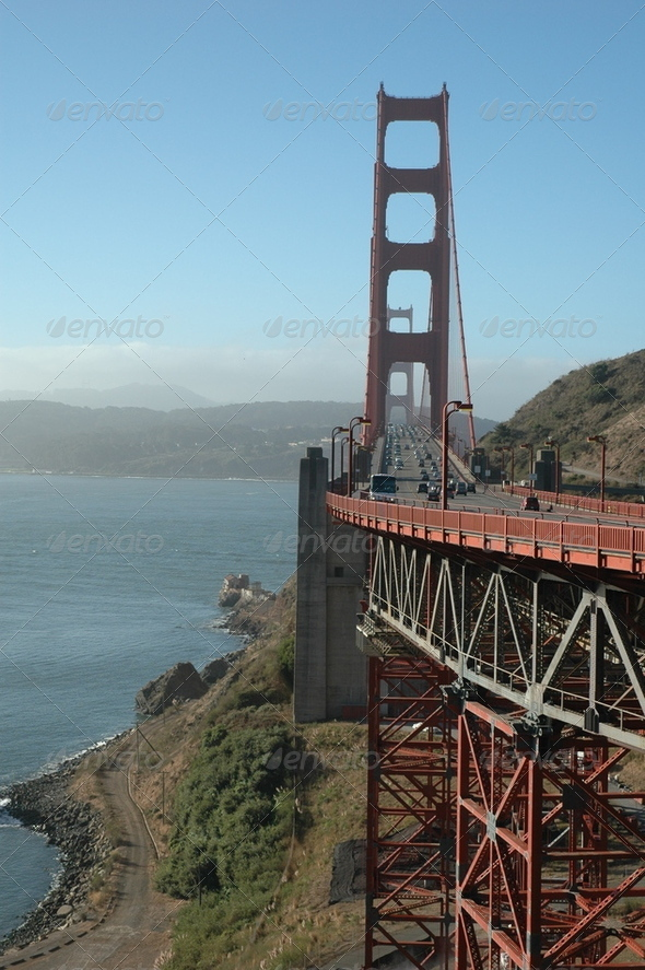 Golden Gate Bridge - Stock Photo - Images