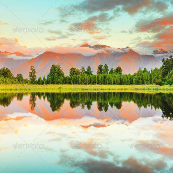Matheson Lake - Stock Photo - Images