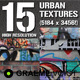 15 Urban Grunge Textures - GraphicRiver Item for Sale