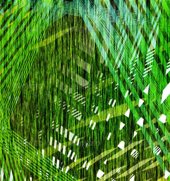 abstract green line fiber - Stock Photo - Images
