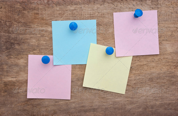 reminder notes - Stock Photo - Images