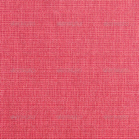 Red linen canvas texture - Stock Photo - Images
