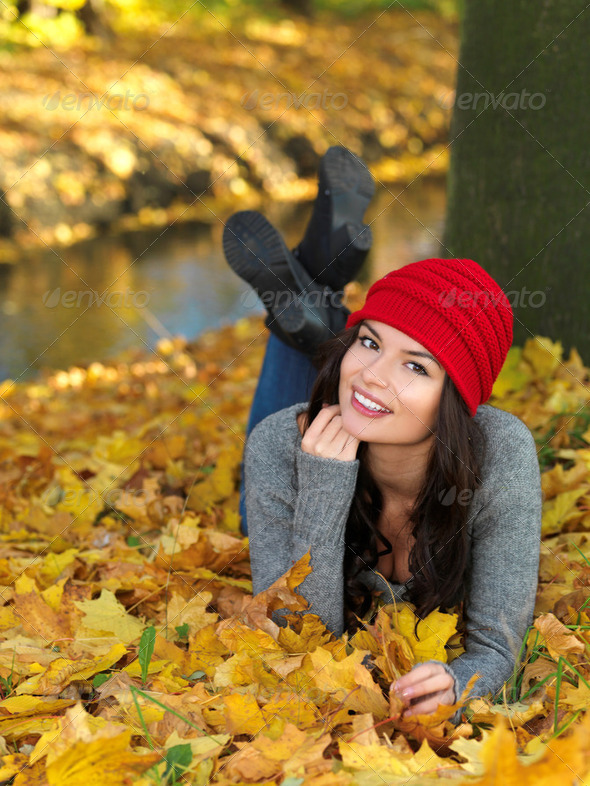 Beauty during autumn - Stock Photo - Images