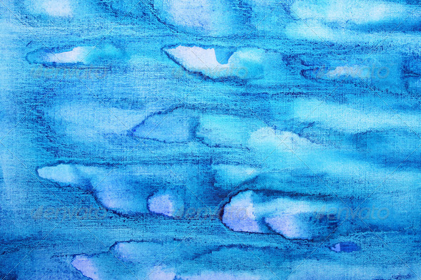 Abstract watercolor background on paper texture - Stock Photo - Images