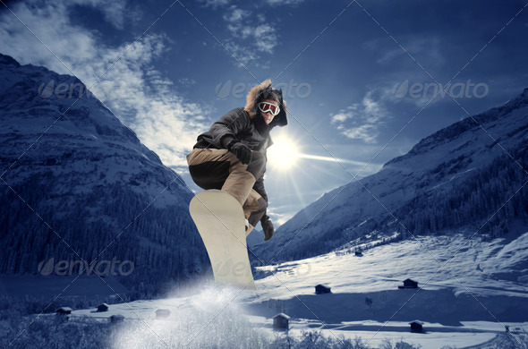 Snowboard - Stock Photo - Images