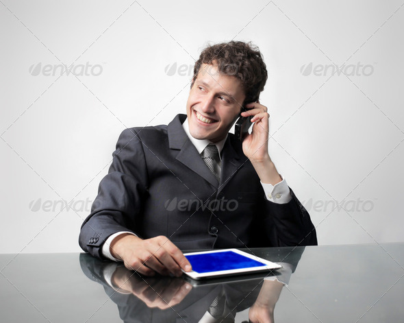 Easier communication - Stock Photo - Images