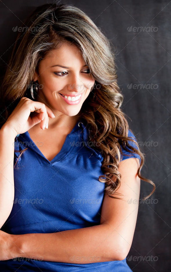 Thoughtful woman - Stock Photo - Images