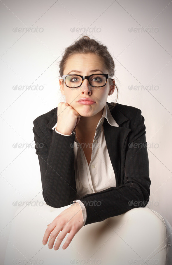 Boring work - Stock Photo - Images