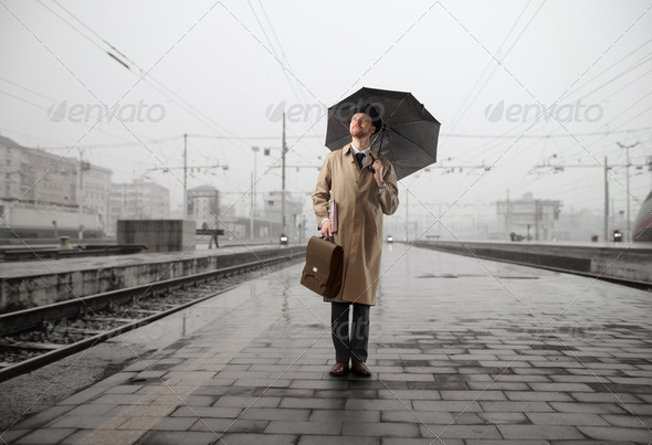 Rainy travel - Stock Photo - Images