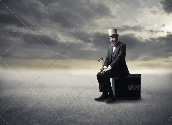 Lost man - Stock Photo - Images