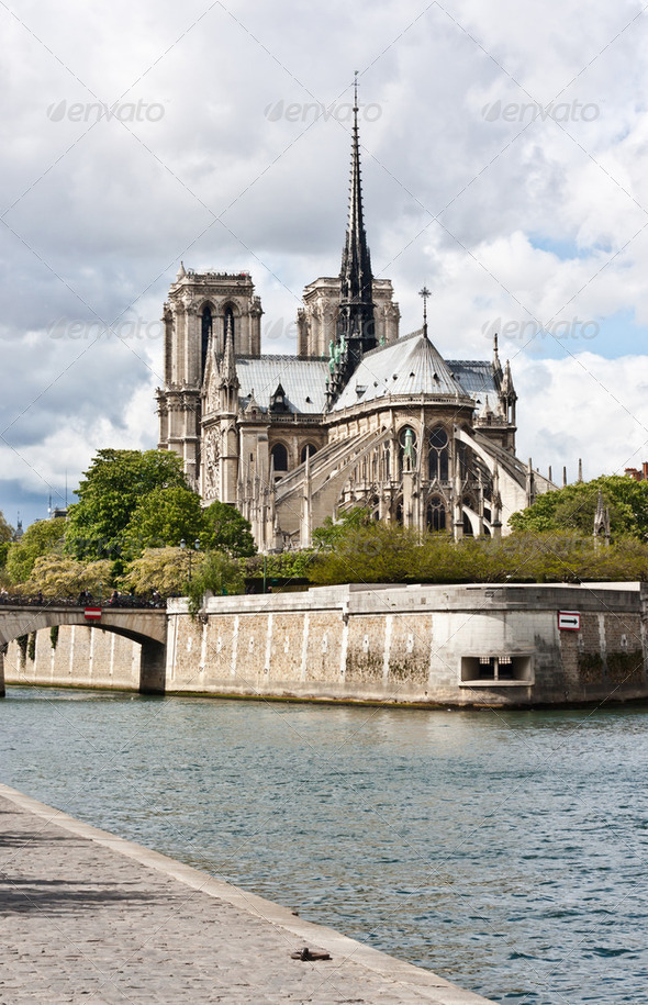 Notre-Dame de Paris - Stock Photo - Images