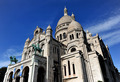 Sacre Coeur Basilica in Montmatre Paris  - PhotoDune Item for Sale