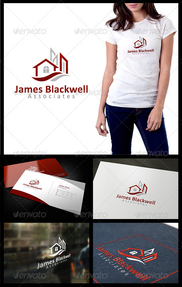 James Blackwell Associates - Buildings Logo Templates