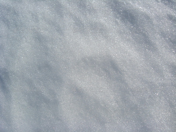 Snow cover - Stock Photo - Images