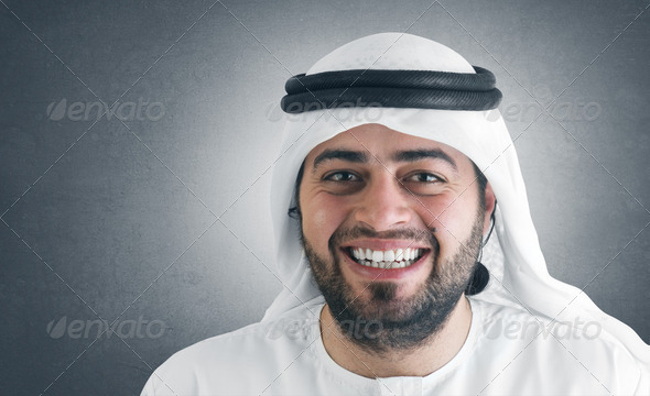 successful arabian businessman / executive  - Stock Photo - Images