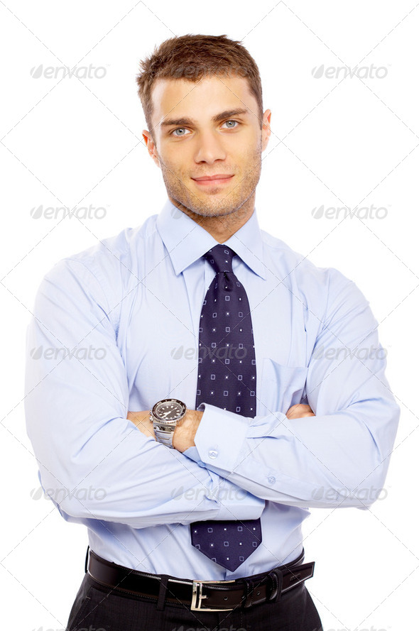 Portrait of Businessman - Stock Photo - Images