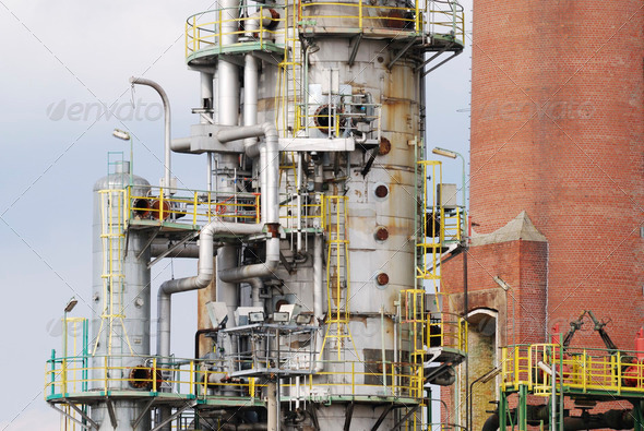 Oil Refinery - Stock Photo - Images