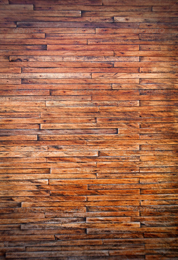 Old Grunge Vintage Wood Panels Background - Stock Photo - Images