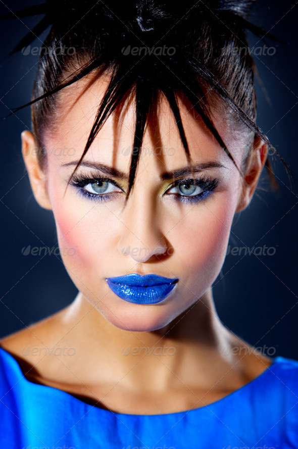 Punk Girl - Stock Photo - Images