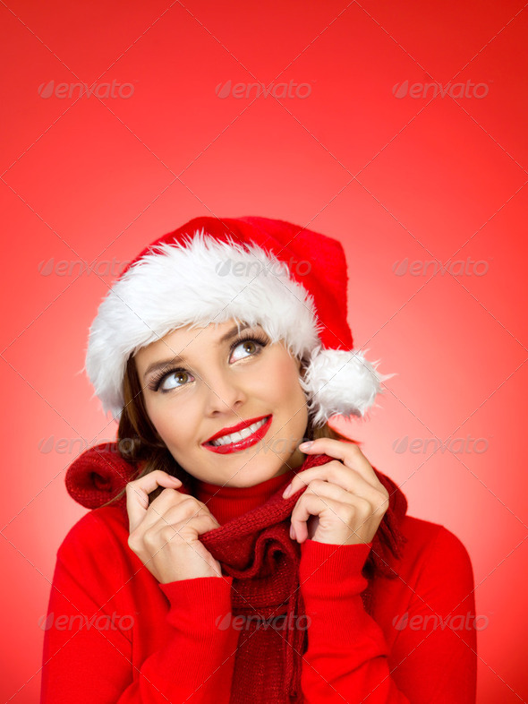 Cute Santa - Stock Photo - Images