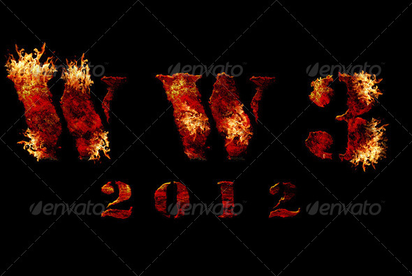 World war 3 nuclear background - Stock Photo - Images