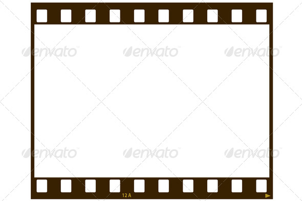 Blank film strip - Stock Photo - Images