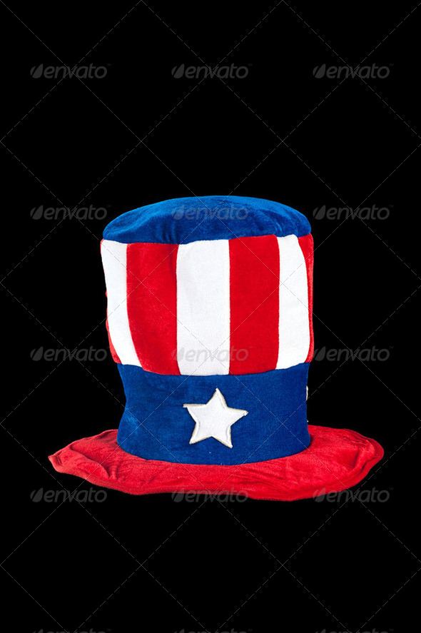 Patriotic hat - Stock Photo - Images