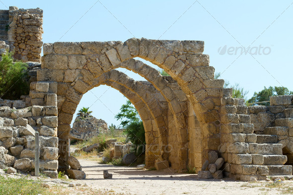 Ancient Ruins - Stock Photo - Images