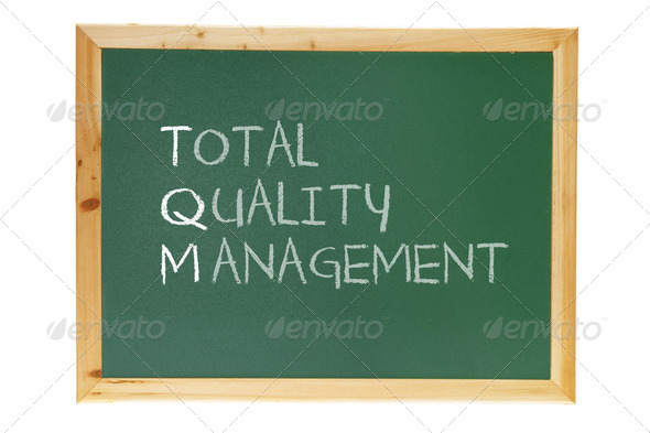 Total Quality Management - Stock Photo - Images