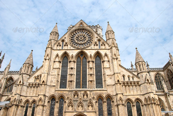 York Minster South View - Stock Photo - Images