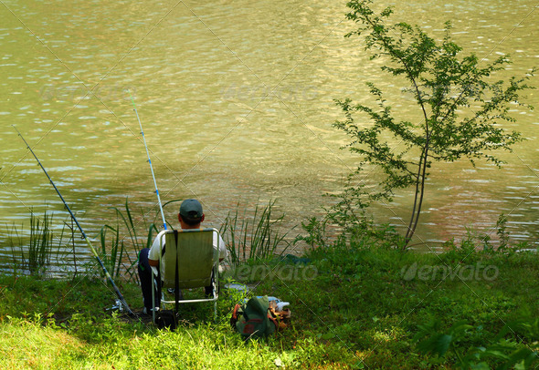 Fisherman - Stock Photo - Images