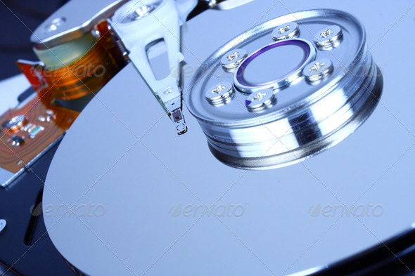 Hard drive HDD - Stock Photo - Images