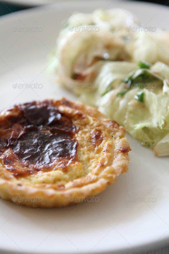 quiches lorraines - Stock Photo - Images