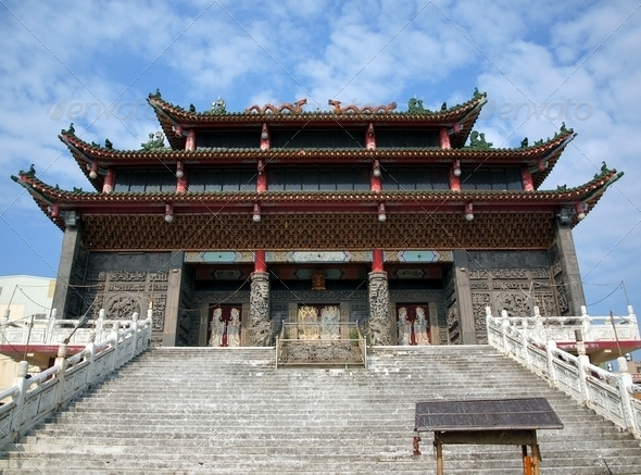 Traditional Chinese Temple - Stock Photo - Images