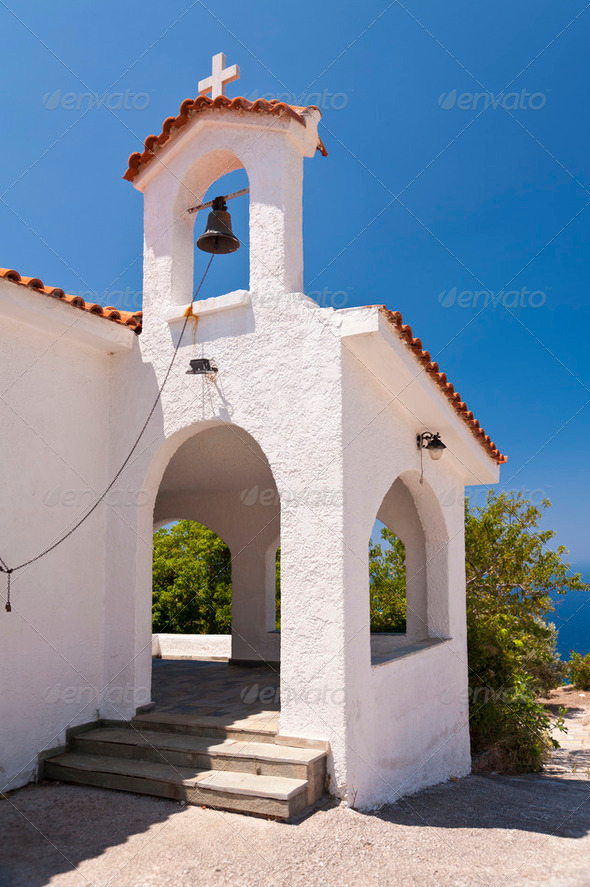 Greek Church - Stock Photo - Images