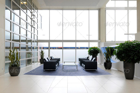 Office reception - Stock Photo - Images