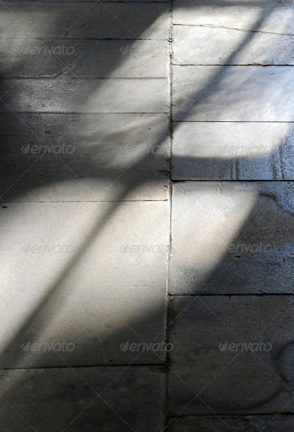 Floor shadow - Stock Photo - Images