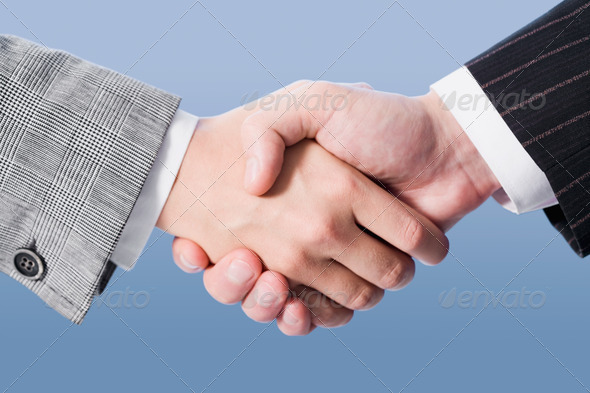Making an agreement - Stock Photo - Images