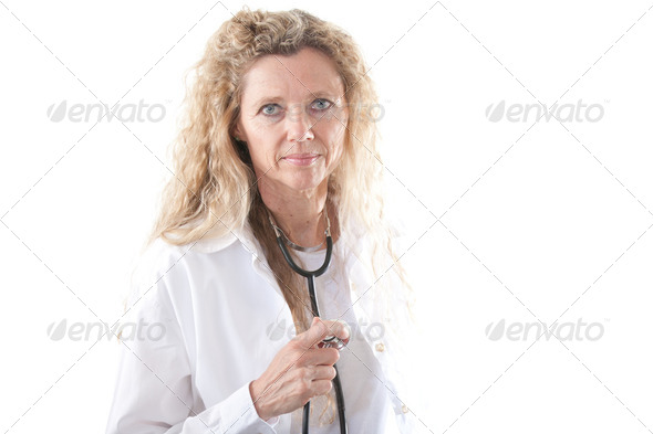 Female Doctor - Stock Photo - Images