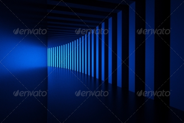 blue light - Stock Photo - Images