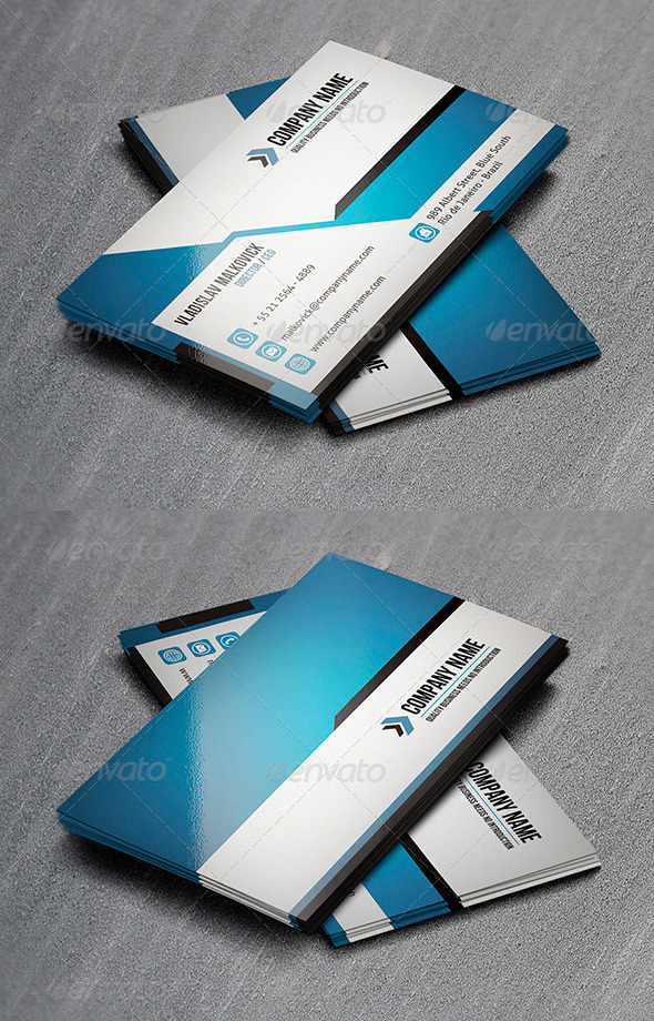 GraphicRiver Corporate Business Card 12 3328849