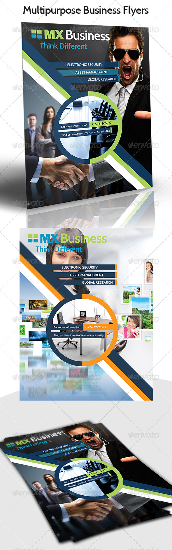 GraphicRiver Mx Business Flyer 3317424